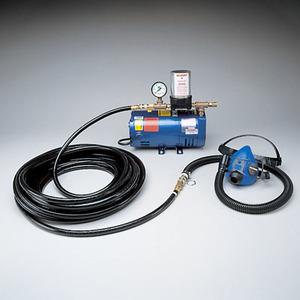 Allegro Half Mask Supplied Air Respirator System