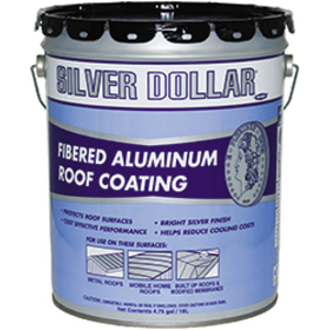 Silver Dollar 174 Super Bright 174 622 Ga Roof Coating