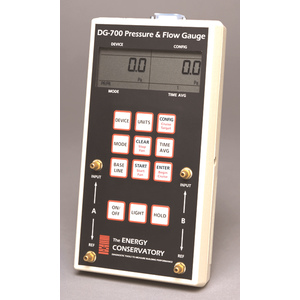 Dg 700 Digital Gauge For Blower Door