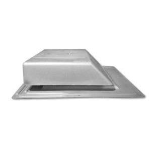 Spl61 Gray Plastic Slant Back Roof Vent