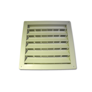 "100 White Gable Vent 14"" x 18"""