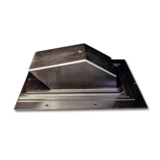 DV158 - 3560 Black Plastic Roof Cap