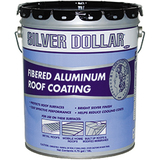 CA236 - 5g Silver Dollar® Fibered Aluminum Roof Coating