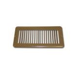 "VN104 - 4"" x 10"" Brown Metal Face Plate"