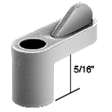 WD106 - Plastic Wing Clips - Gray 5/16""
